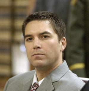 Scott Peterson during his trial, Jan. 20, 2004.